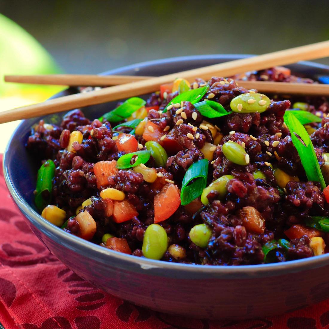 Sesame Ginger Barley and Wild Rice Salad7