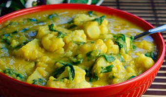 Chunky Toor Dahl Soup