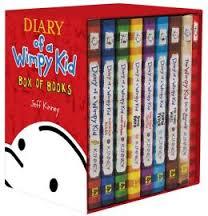 1. Diary of a Wimpy Kid by Jeff Kinney
