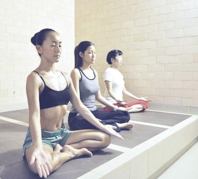 Ganban Yoku Yoga - What Therapy