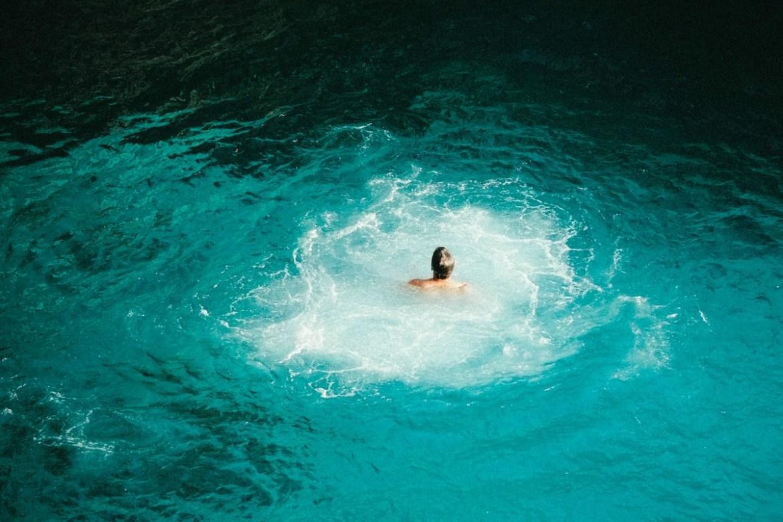 Man in water by simson-petrol