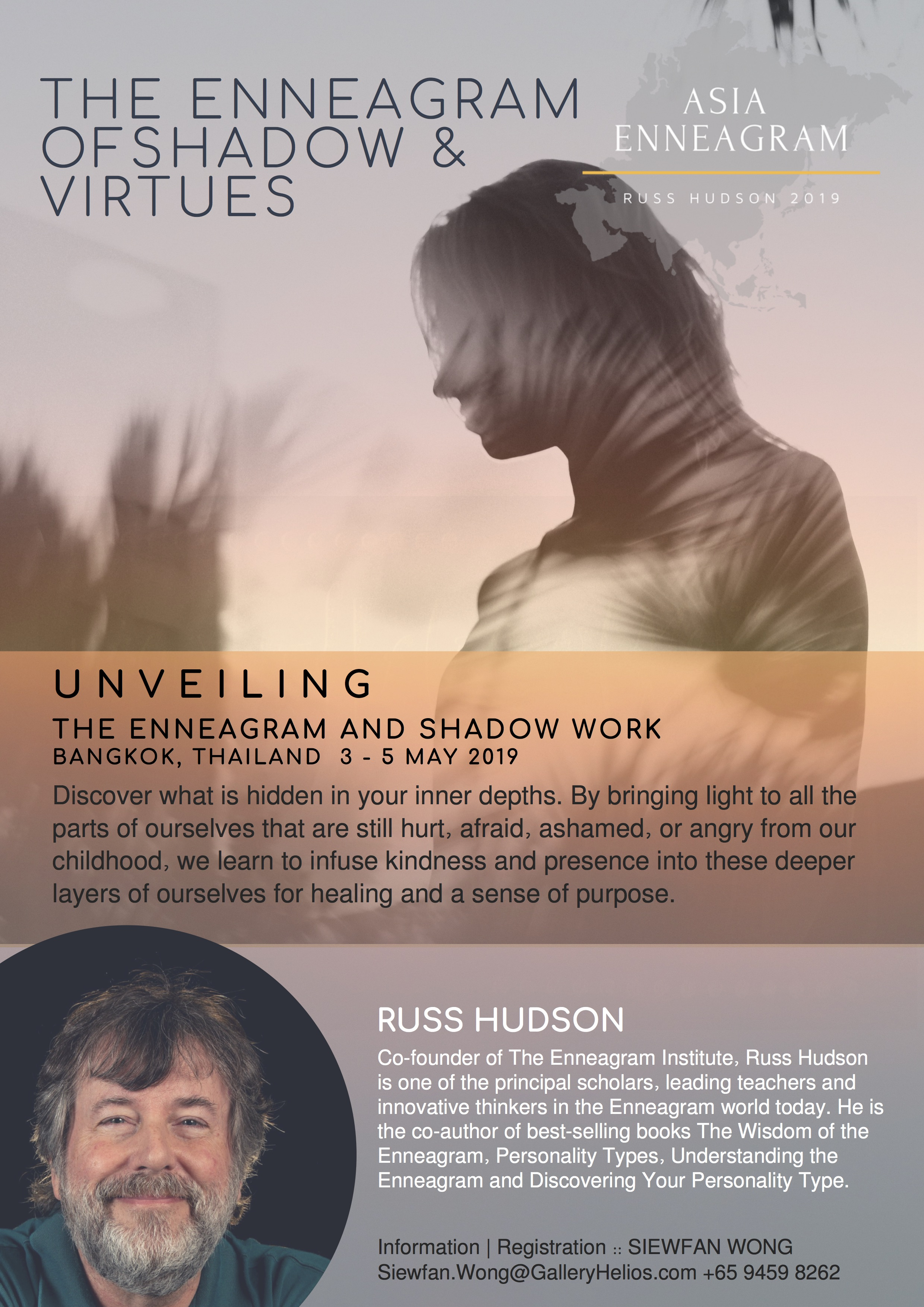 Enneagram and Shadow Work with Russ Hudson Asia 2019