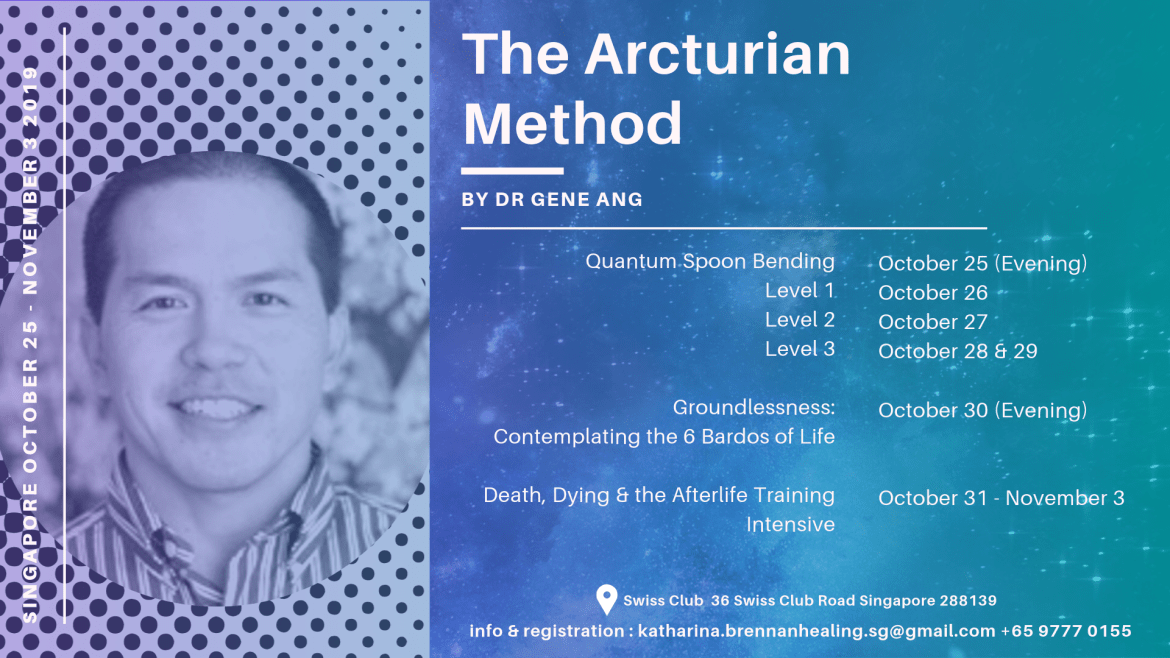 Gene Ang in Singapore Fall 2019 Arcturian Method