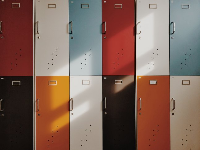 defusing back-to-school stress at the lockers photo by moren hsu