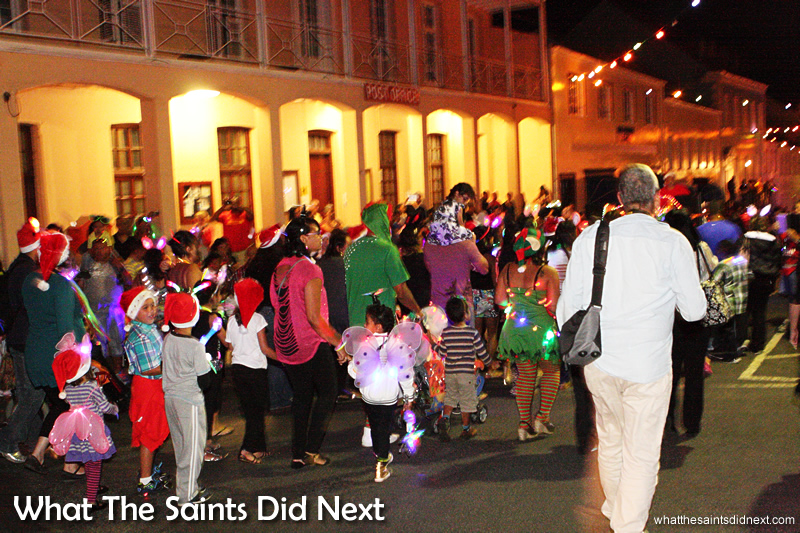 St Helena Festival of Lights 2014