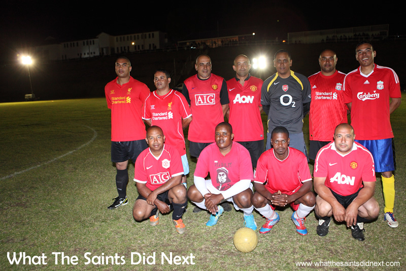 The over 35s football team