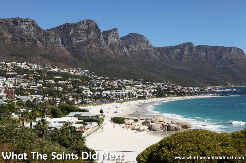 The Twelve Apostles keep watch over the beaches and ocean front property.