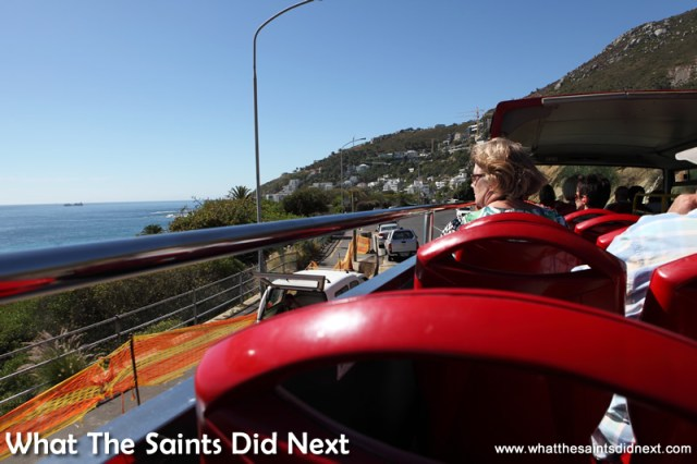 We were blessed with glorious weather on our Cape Town City Sightseeing tour.