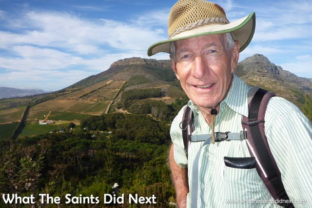 This is Ian. Hiking The Table Mountain National Park.