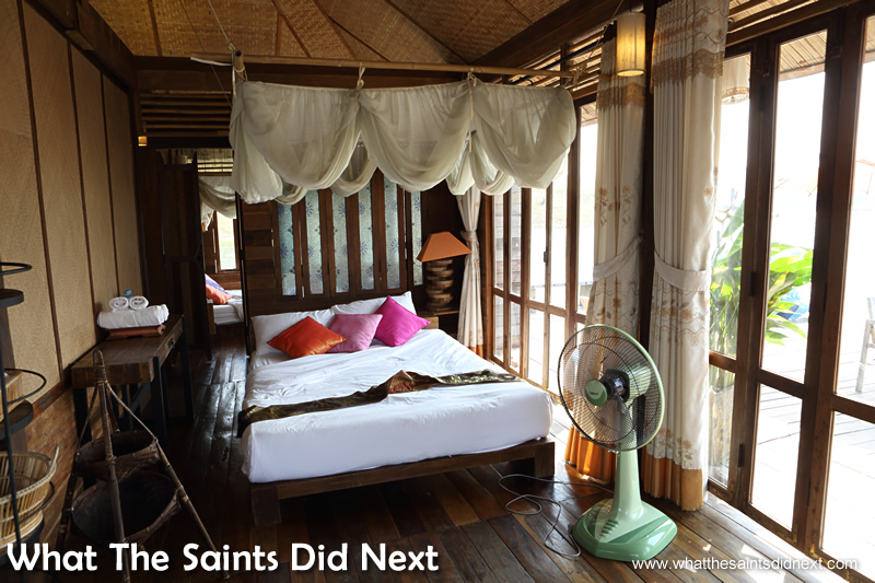 The bedrooms are pretty stylish. Mountain Float - Thailand's Secret Holiday Hideaway.