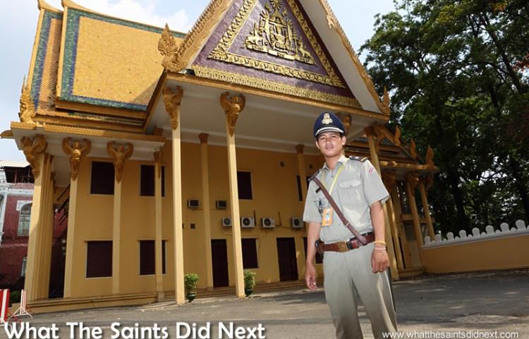 Royal Palace Cover Up: Phnom Penh