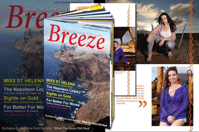 Breeze e-magazine contains the full shoot and interview - sign up by email to the blog for a free copy.