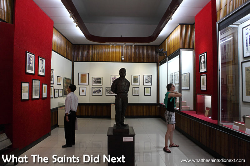 Inside the second building. The National Museum of Vietnamese History.