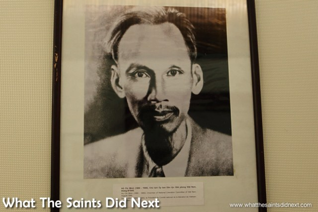 President Ho Chi Minh - photograph from National History Museum.