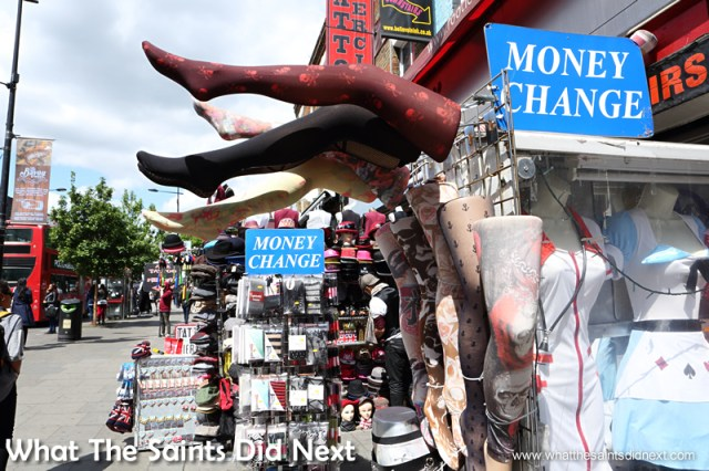 Just a few steps from the Underground station it becomes apparent Camden Market is different.