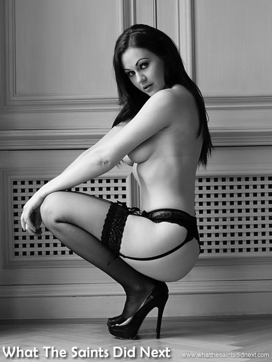 Glamour model Tina Kay - regular modelling work is still a big part of Tina's career.