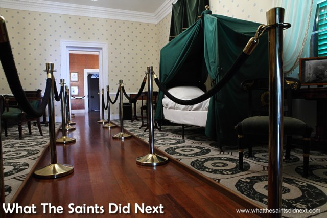 Attention to detail has been key to the restoration of Longwood House St Helena.