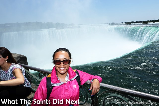 I have to pinch myself that I'm actually visiting Niagara Falls, in Canada.