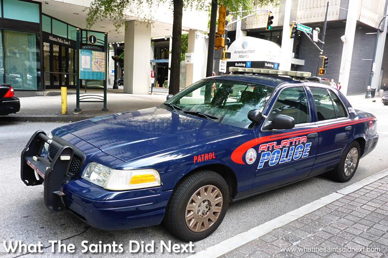 Atlanta police car.