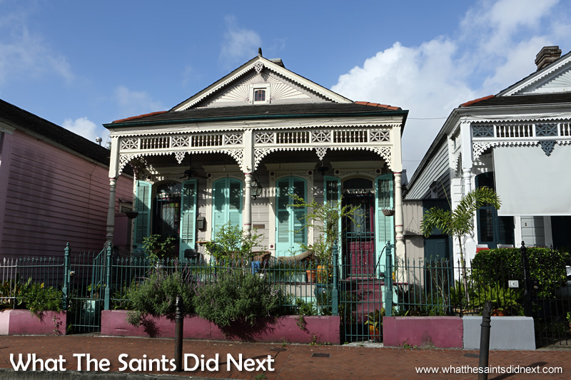 The architecture of the Quarter is America's finest stand of 19th century architecture and is a reflection ofthe native architectural traditions of those who have occupied it and an adaptation to the hot and humid semitropical Louisiana climate.