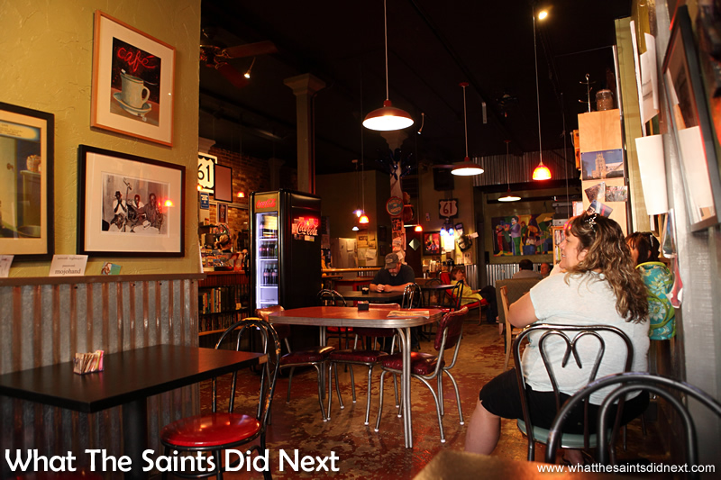 Highway 61 Coffee Shop in Vicksburg.