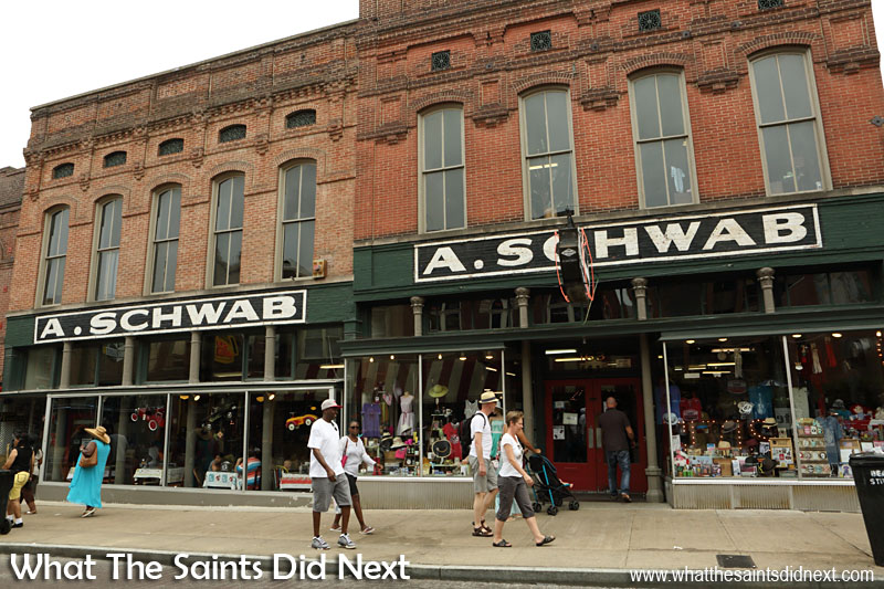 A Schwab Memphis, the museum on Beale Street, a great place to visit. Free entry.