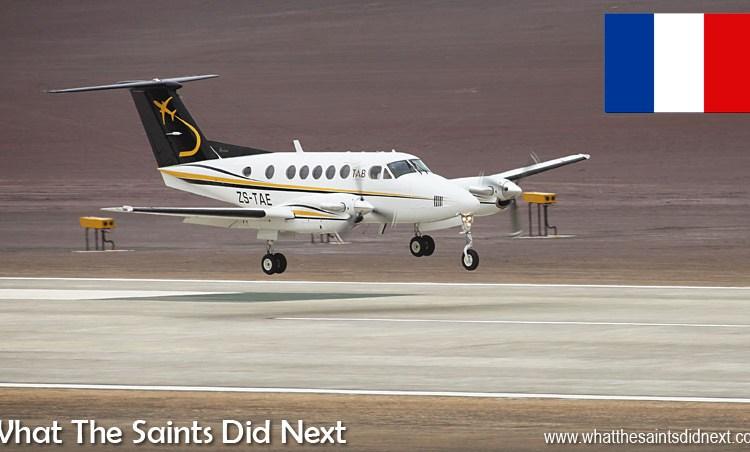 Premier Avion a atterri sur le Nouvel Aéroport de Sainte Hélène Aujourd'hui