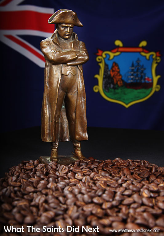 """The only good thing about St Helena is the coffee,"" Napoleon supposedly proclaimed. He was an avid coffee lover and a great fan of the island's green-tipped Bourbon Arabica beans. St Helena coffee is rare and expensive and coffee connoisseurs the world over rate it amongst the world's best."
