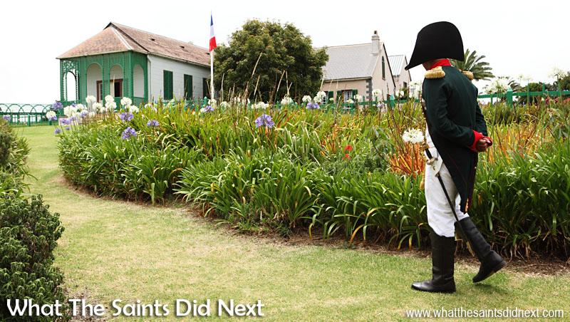 St helena exile napoleon bonaparte the move to longwood house for Longwood house