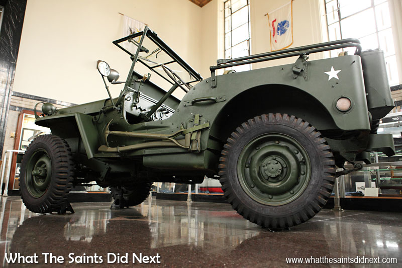 The Soldiers Memorial Military Museum, St Louis, Missouri. Another great place to visit for free. The museum is full of military hardware but also displays that remind visitors of sacrifices made in battle over the years by citizens from St Louis.