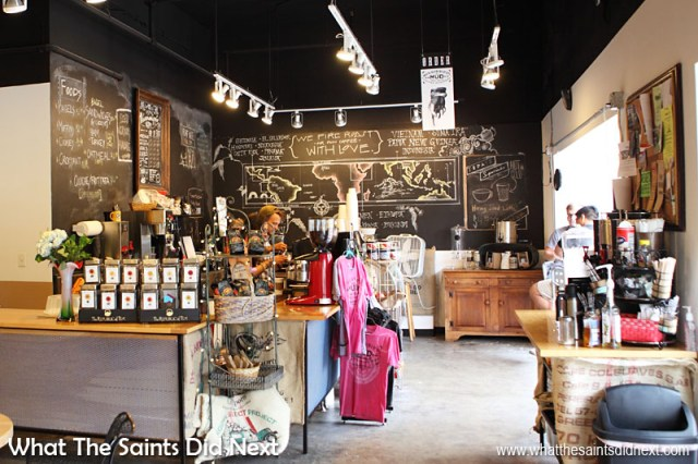 The Mississippi Mud Cafe has everything going for it; great coffee, superb customer service and free wi-fi. The free Art Saint Louis gallery which is part of the cafe is just another great bonus! If in St Louis, Missouri, head here for coffee.