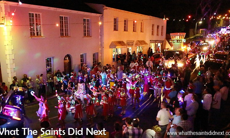 St Helena Christmas Street Parade: Festival of Lights 2015
