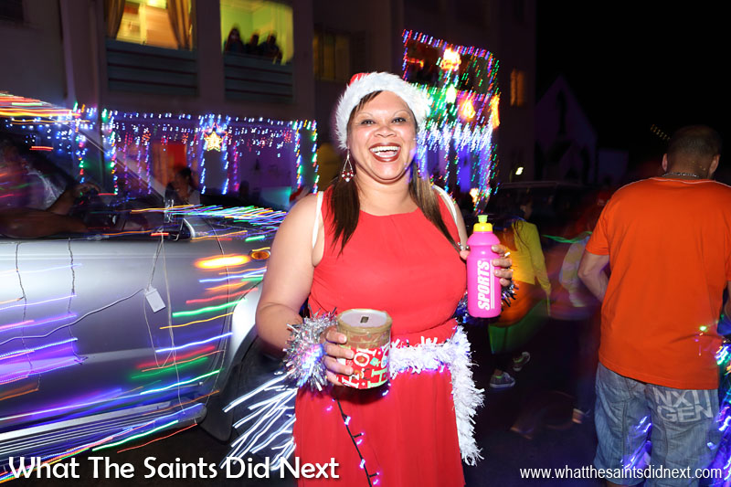 St Helena Festival of Lights 2015 - Collections are taken during the parade in aid of Pilling Primary School, who are the event organisers.