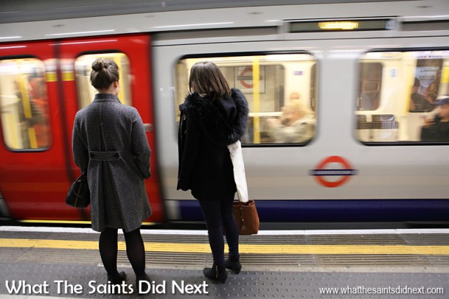 In London the locals often complain about the service on the Underground, or the Tube as it's also known. But compared to many other countries the historic London Tube is pretty awesome as a public transport system and is very convenient for getting all around the city. It can get quite crowded at rush hour but it is quite safe and we would regularly be using it late at night without any worries.