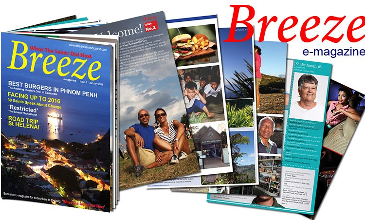 Breeze Photography Magazine from St Helena Island