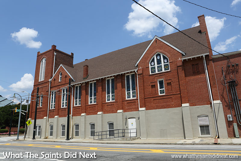 The Historic Ebenezer Baptist Church Heritage Sanctuary and Fellowship Hall, on Auburn Avenue, the spiritual home of Dr Martin Luther King, Jr. The church has now been designated a National Historic Landmark. It is open to the public daily, 9am – 5pm.