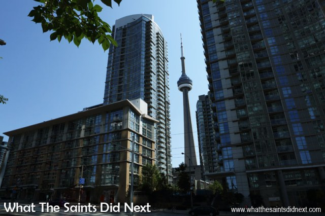 Between 1976 – 2010 the Toronto CN Tower was the world's tallest building. It was superseded by the opening of the Burj Khalifa (829.8 metres) in Dubai.
