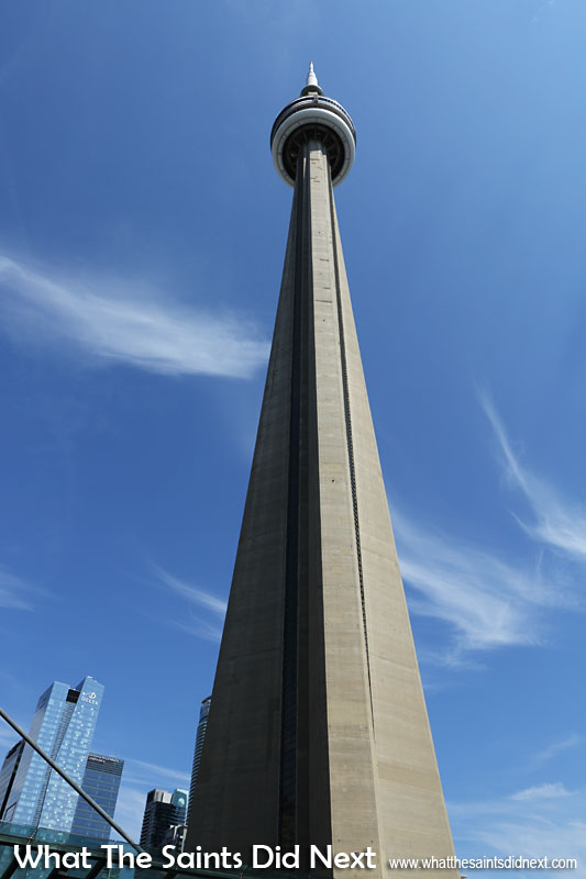 In 1995 the CN Tower was designated an Engineering Wonder of the Modern World in the company of the Empire State Building, the Golden Gate Bridge, the English Channel Tunnel, Panama Canal, Itaipu Dam and North Sea Protection Works.