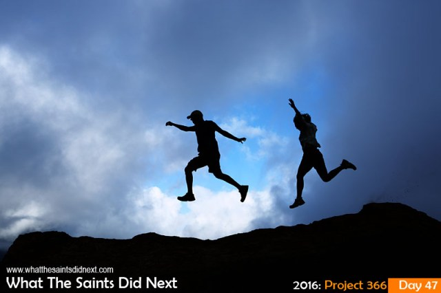 '2K' 16 Feb 2016, 17:24 - 1/400, f/8, ISO-200 What The Saints Did Next - 2016 Project 366 What The Saints Did Next hiking!