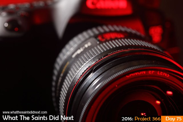 'Complimentary' 15 March 2016, 17:58 - 1/125, f/8, ISO-200 + flash x 2 What The Saints Did Next - 2016 Project 366 Canon Camera