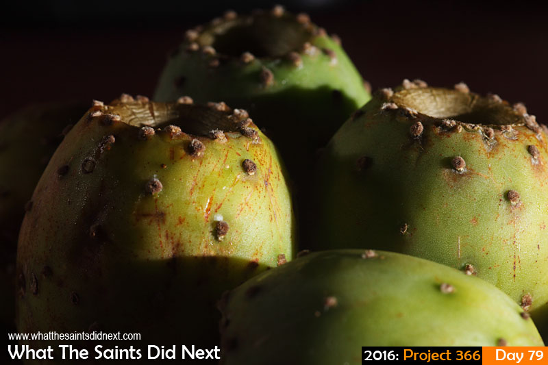 'One percent' 19 March 2016, 19:03 - 1/80, f/10, ISO-100 + flash(2) What The Saints Did Next - 2016 Project 366 Tungi fruit.