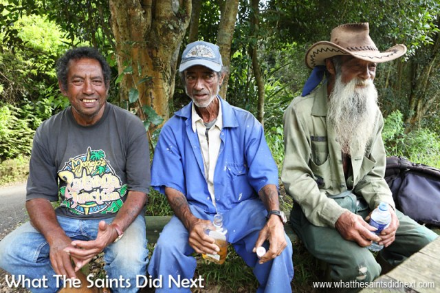 St Helena Culture - Some of the island characters you will meet in Sandy Bay, one of the most beautiful districts on the St Helena. The older generation can open the door to some of the most amazing stories about St Helena's recent history. It's worth having a chat!