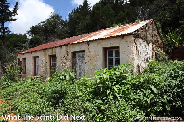 St Helena Culture - A typical, old style, St Helena cottage in the countryside. Restoring a house like this as an authentic museum piece would be very interesting for tourists, but even more so for a younger generation of Saints who are growing up in more modern times.