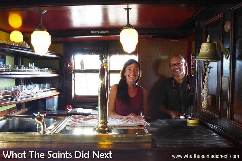 Bark Europa's bartender is Laura, when she's not playing tour guide to curious photo-bloggers.