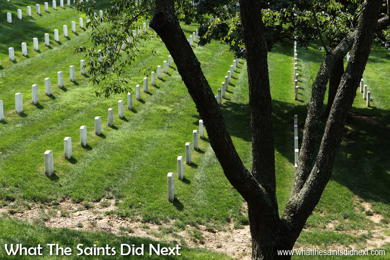 Arlington National Cemetery, is the final resting place for many military personnel from conflicts that include Iraq, Afghanistan, both World Wars, Korea, Vietnam, the Cold War and the American Civil War.