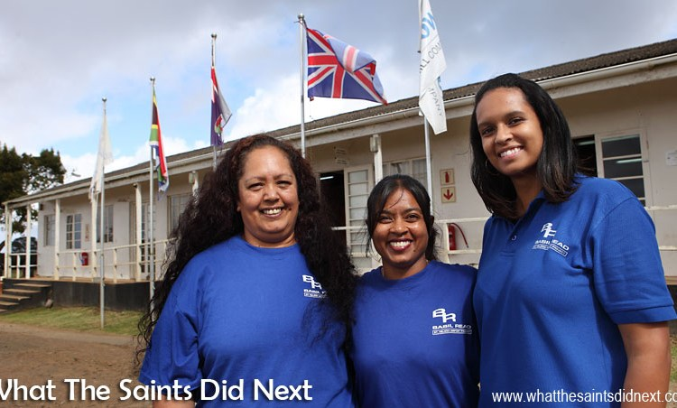 First Saints To Fly From St Helena Airport