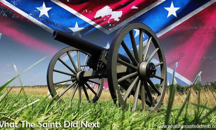 The Confederate Flag Led Us To The Battle Of Gettysburg