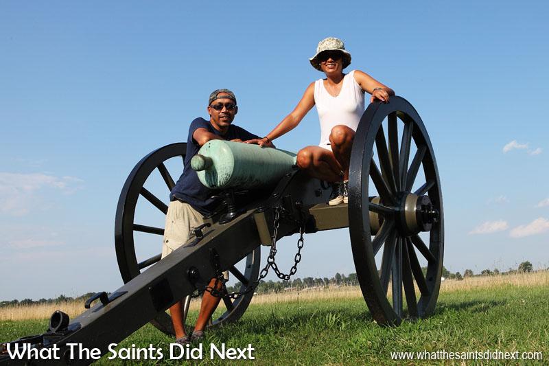 Napoleon field artillery gun - taking a closer look.