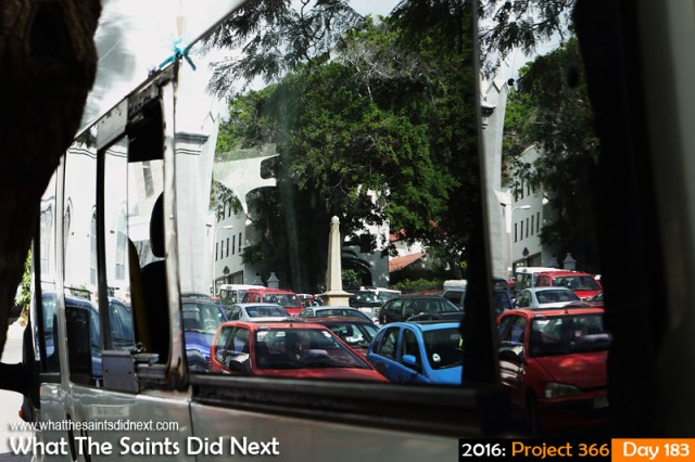 'Somme' 1 July 2016, 14:21 - 1/160, f/7.1, ISO-500 What The Saints Did Next - 2016 Project 366 Parade Square reflections, Jamestown, St Helena.