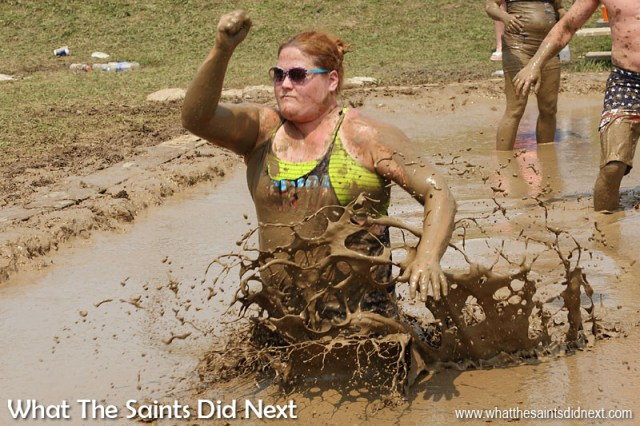July Fourth celebrations - Mississippi Mud Volleyball Tournament takes place every year in Hannibal, Missouri.